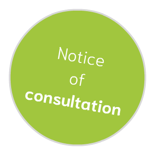 greengasregister be notice of consultation